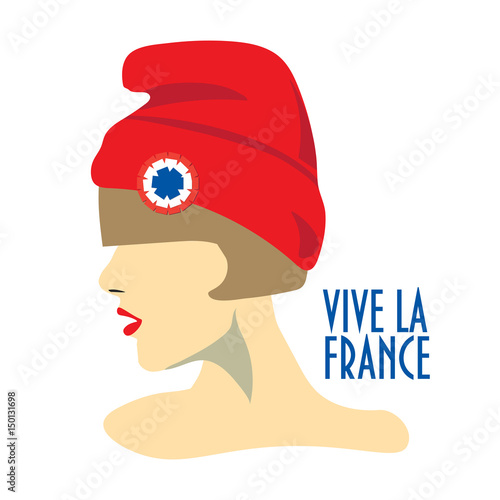 Minimalist greeting card design for the bastille day french minimalist greeting card design for the bastille day french national day text in french m4hsunfo