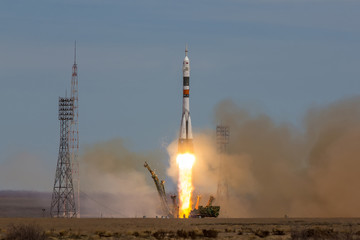 "Launch of the spaceship ""Soyuz MS-04"" to ISS"