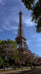 Tour Eifel Paris at Spring