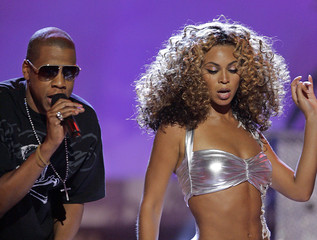 Beyonce and Jay-Z perform at the 2006 BET Awards in Los Angeles