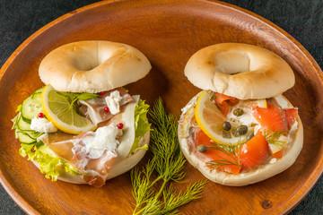 ベーグル パン  Bagel Sandwich