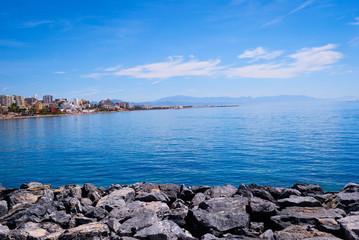 Mar azul, lago azul