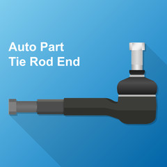 tie rod end auto part