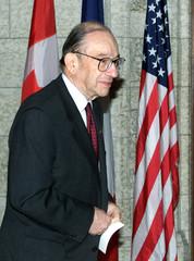 CHAIRMAN OF THE US FEDERAL RESERVE ALAN GREENSAN.