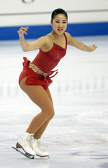Michelle Kwan performs at the US Figure Skating Championships in Portland.