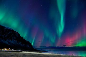 Foto op Plexiglas Noorderlicht Colors of the northern lights