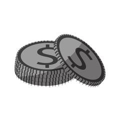 money coins icon image vector illustration design