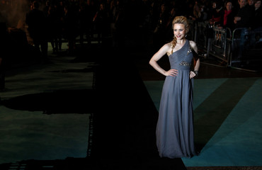 """Canadian actress McAdams arrives for the world premiere of """"Sherlock Holmes"""" in Leicester Square in London"""