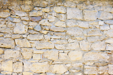Antique natural stone wall background