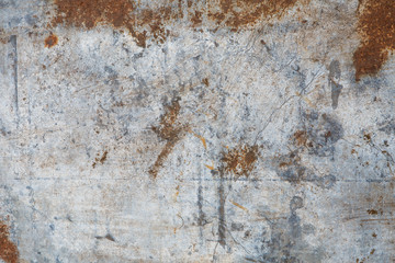 Rusty metal background Wall mural