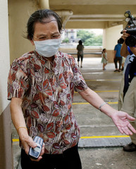AMOY GARDENS RESIDENT EXPRESSES SORROW IN HONG KONG.