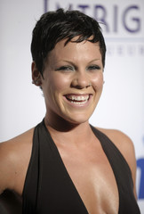 Singer Pink attends the Clive Davis Pre-Grammy Party in Beverly Hills, California