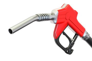 Fuel pump nozzle, 3D rendering