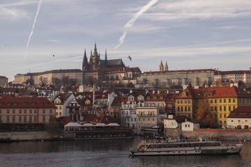 The city of Prague panorama