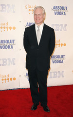 TV personality Tim Gunn arrives to attend the 19th annual GLAAD Media awards in New York