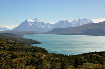 Torres del Paine national park, Lago El Toro, patagonia, Chile.