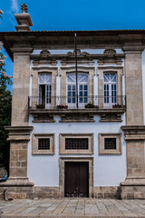 City hall, former Santa Clara convent Guimaraes, Portugal.