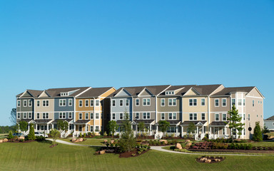 New town homes subdivision