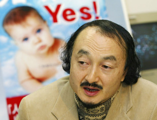 REPRESENTATIVE OF JAPAN RAELIAN MOVEMENT NAKAMURA SPEAKS ON THE THIRDCLONED BABY IN TOKYO.