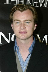 "Christopher Nolan, director of the new film ""Insomnia"", arrives at  Premiere magazine's ""The New Pow.."
