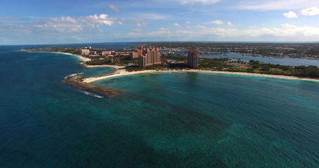 Aerial View of Bahamas
