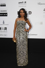 Actress Kerry Washington  arrives for the amfAR's Cinema Against AIDS 2009 event in Antibes