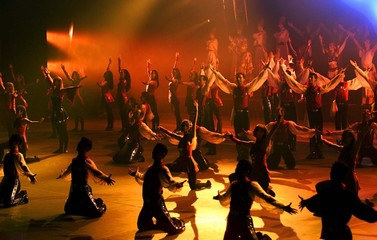 """SULTANS OF THE DANCE"" STAGED IN ISTANBUL."