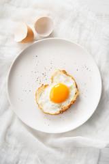 fried egg.