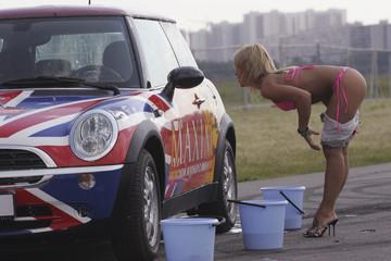 Car wash strip tease, videis pornos gratis de orgias