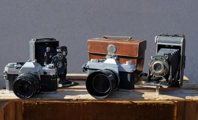 Anciens appareils photos