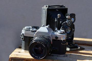 Ancien appareil photo argentique