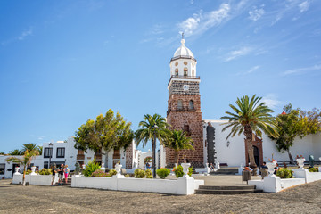 Town of Teguise in Lanzarote, Canary islands, Spain