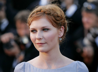 US actress Kirsten Dunst arrives for screening of film 'Marie Antoinette' at 59th Cannes Film Festival