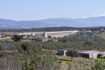 Gabriel y Galan reservoir, Caceres, Spain