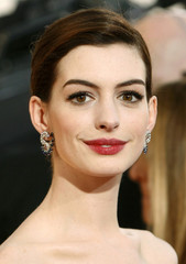 File photo of actress Anne Hathaway at the 66th annual Golden Globe awards in Beverly Hills