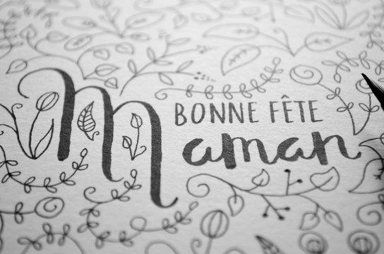 Carte « Bonne Fête, Maman»