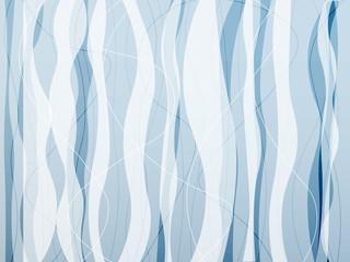 line curve blue wave background vector