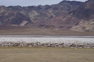 Salt in Death Valley