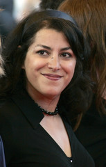 Marjane Satrapi arrives for the awards ceremony at the 60th Cannes Film Festival