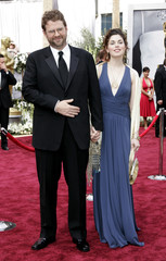 Olson nominee for best adapted screenplay A History of Violence arrives at the 78th annual Academy Awards in Hollywood