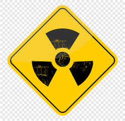 radioactive, sign