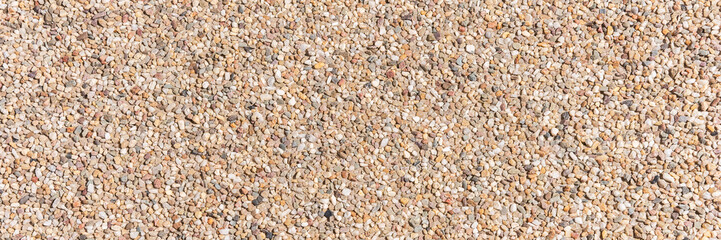 The pattern small pebbles stone as background