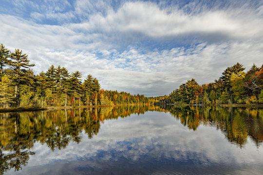 Irwin Lake, Hiawatha National Forest, Upper Peninsula of Michigan.