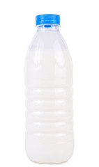 Kefir on a white background
