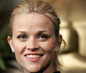 """Oscar-nominated actress in a leading role Reese Witherspoon, for her role in """"Walk the Line"""", arrive.."""