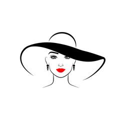 фото в шляпе красивых девушек