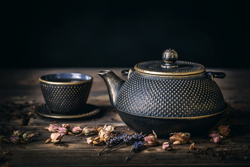 Traditional japanese herbal tea