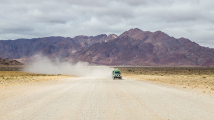 Off-road Drive in Namibia