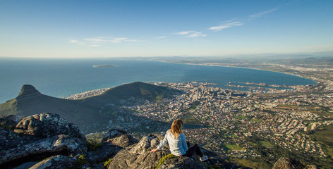 Table Mountain, Cape Town View - South Africa