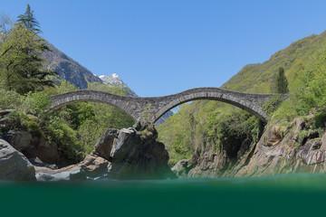 """Die Römerbrücke """"Ponte dei Salti"""""""